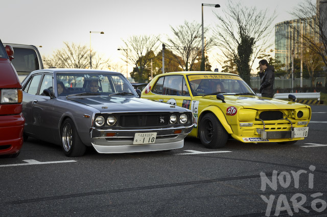 Old Tin Japan Classic Car Association S New Year Meeting Part Ii
