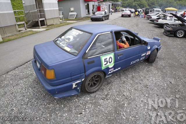 real himawari racing at fuji speedway drift course part i noriyaro