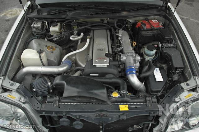 1JZ Turbo motor