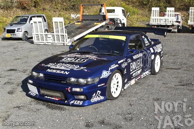 Four Door Men Car Modify Wonder At Nikko Circuit In Drift Car