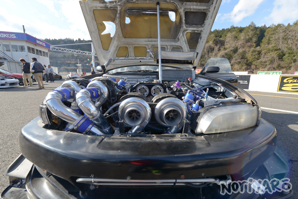 2017 Toyota Supra >> QUAD-TURBO AT NIKKO: Caroline Racing's 2JZ Silvia : NORIYARO
